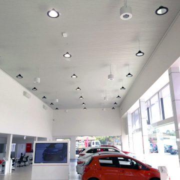Destratification Retail Series Fan Installation 2