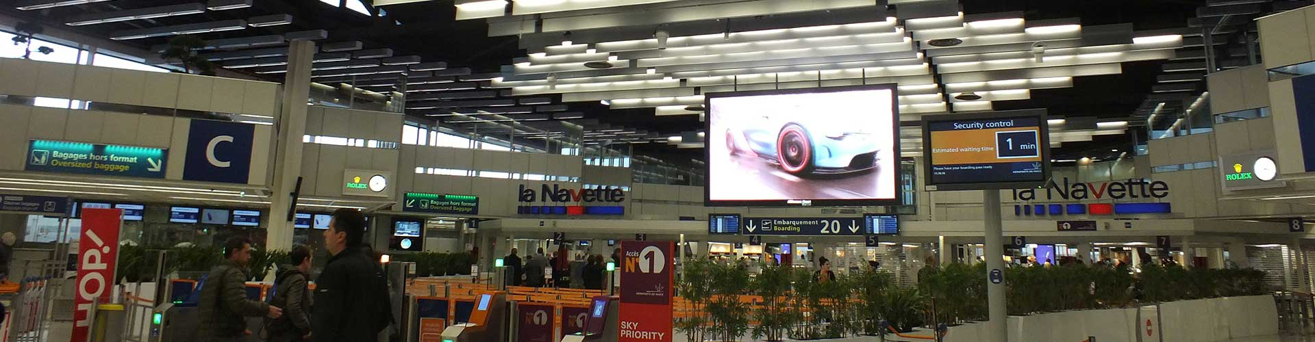 Destratification Fan System Airport Terminal