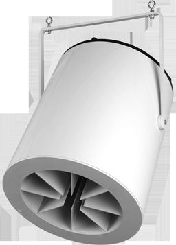 Destratification Fan System Q Series 1