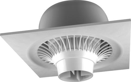 Destratification Fan System Suspended Series