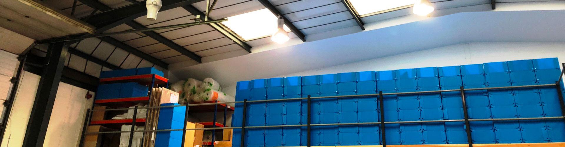Destratification Fan System Warehouses Slider 3