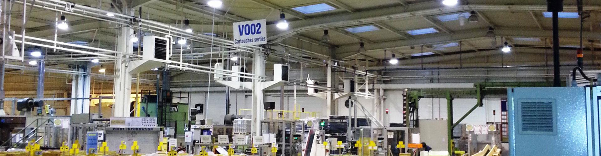 Destratification Fan System Warehouses Slider 4