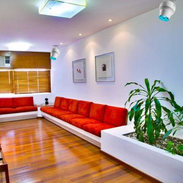 The Airius PureAir Series Purifying Air in Waiting Room