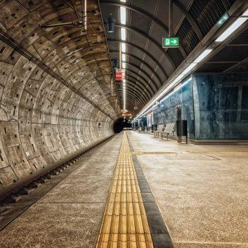 The Airius PureAir Series Purifying Air in A Subway
