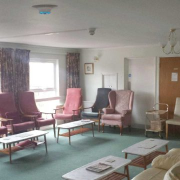 Airius PureAir Air Purification System Installed In a Care Home
