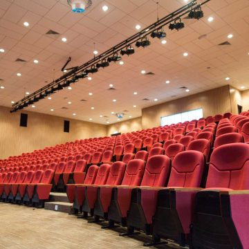 Airius PureAir Air Purification System Installed In a Cinema Theatre