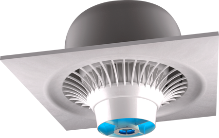 Airius-PureAir-Suspended-Series-Model-10-White-With-Shield