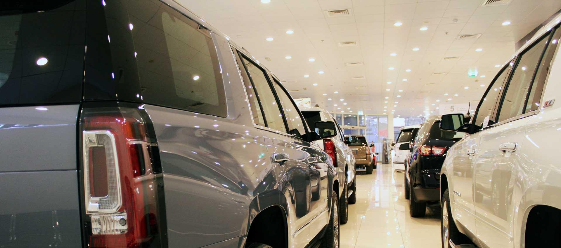 Conducting Safe Business In Car Showrooms Following Coronavirus Button