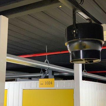 Airius PureAir Pearl Air Surface Purification System Install Pic 8