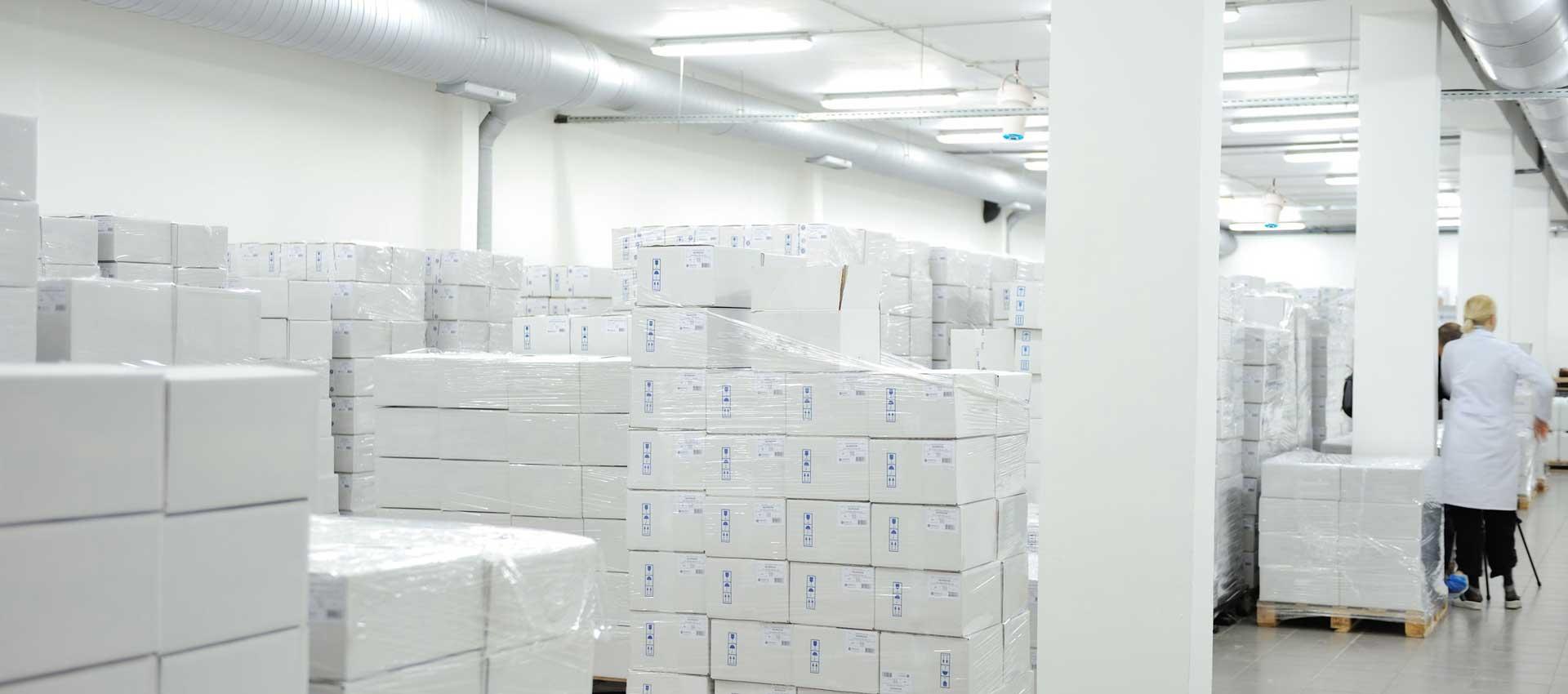 Airius PureAir Air Purification System Installed In Pharmaceutical Warehouse