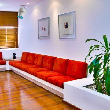 Airius PureAir Air Purification System Installed In a Dentist Waiting Room