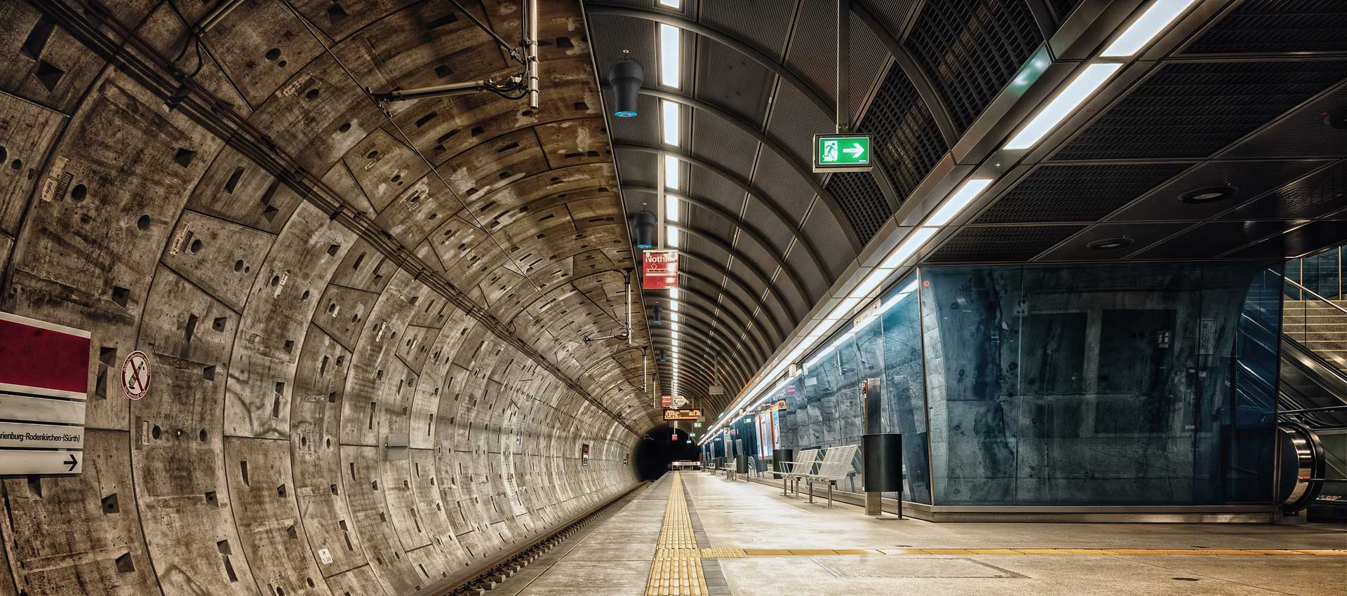 Airius PureAir Air Purification System Installed In Subway Underground